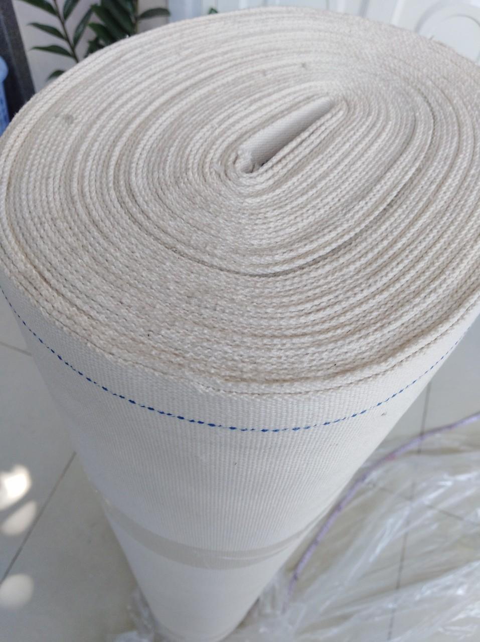 Băng tải Dạng Sợi Cotton Vải Sợi Chịu Nhiệt Chịu Dầu Dùng ngành làm Bánh - Ngành Bao Bì