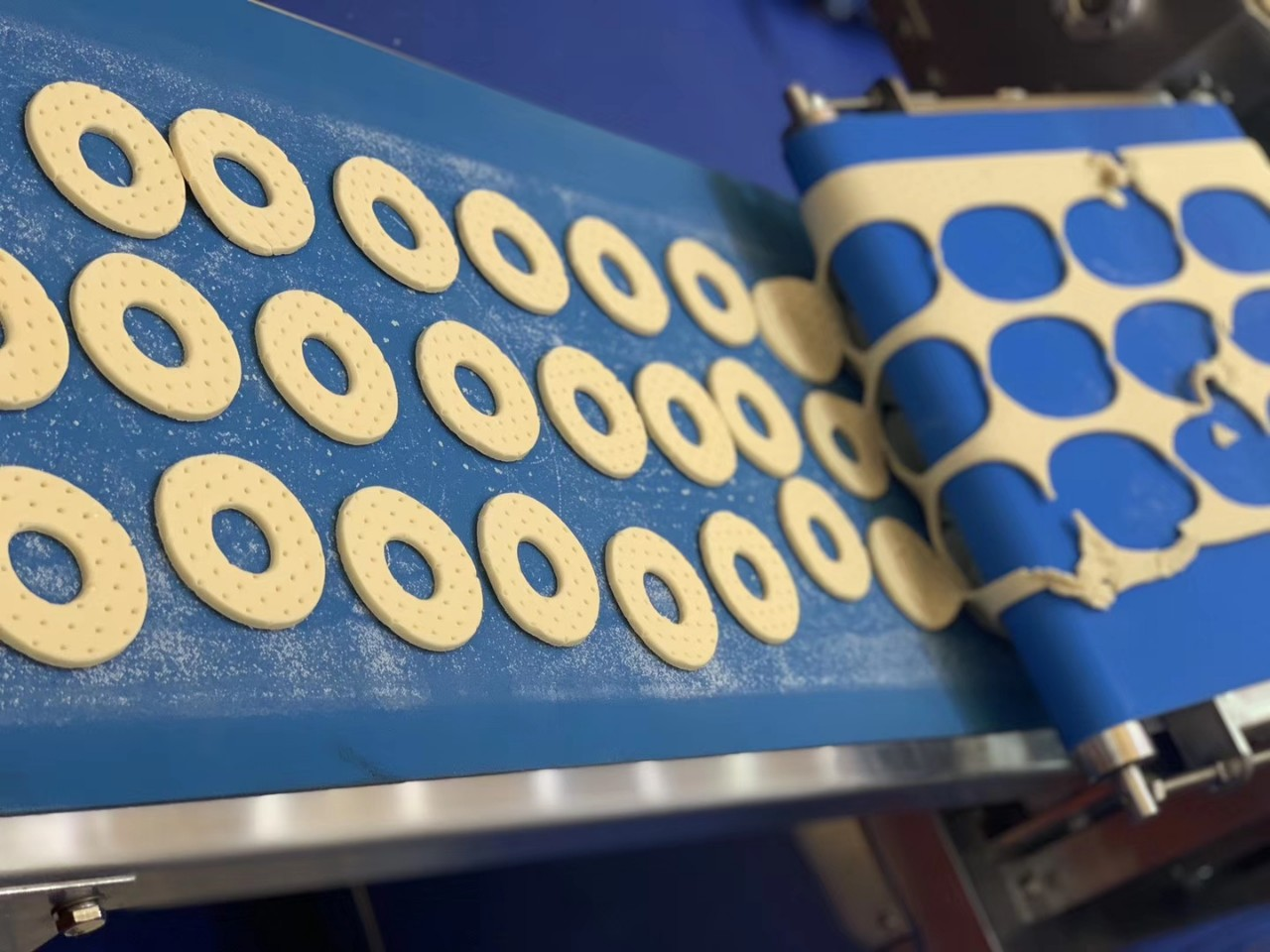 Băng Tải Dùng Cho Nhà Máy Làm Bánh Nướng - Băng Tải Vật Tư Thiên Lộc Materials