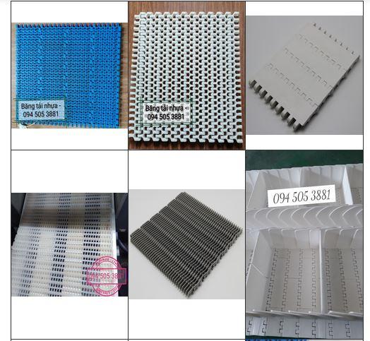 Băng tải nhựa Modular Belt và Các Loại băng Tải Nhựa Modular Belt thường dùng
