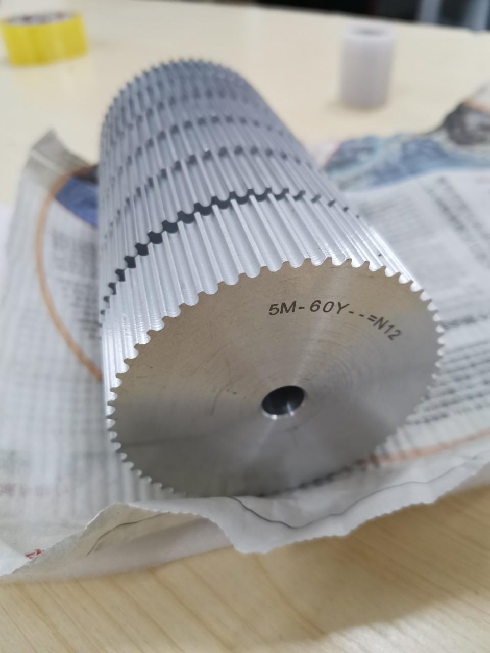 Bánh răng pulley nhôm nhập khẩu theo yêu cầu bản thiết kế
