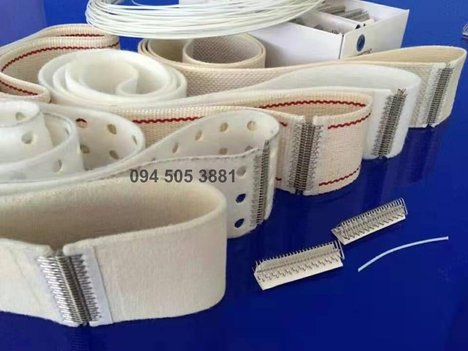 Các loại dây đai chịu nhiệt cho máy là lô máy hấp, Máy cuốn vải, máy ủi công nghiệp