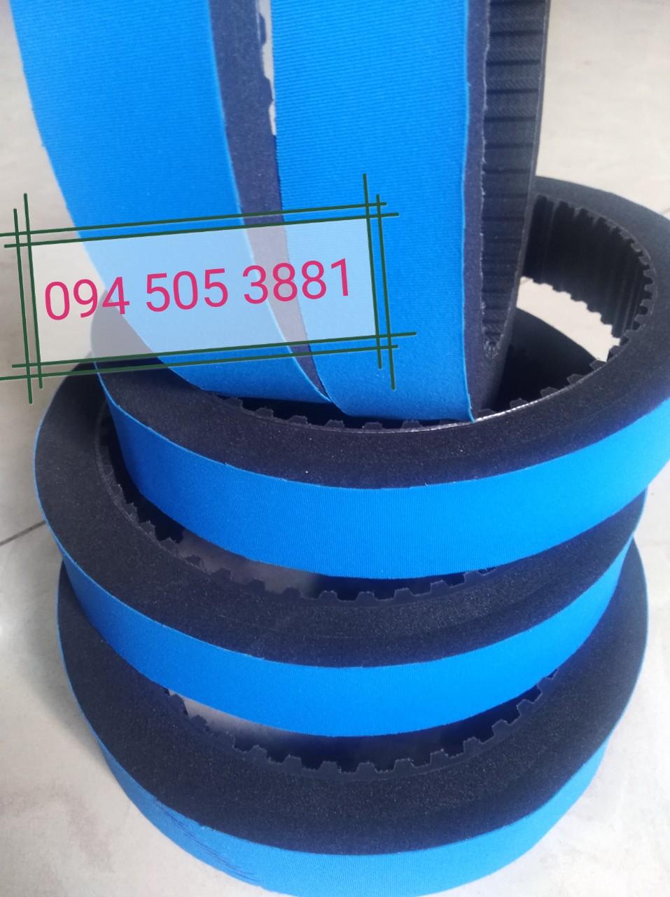 Dây curoa đắp mút xốp xanh | Dây curoa thiết kế theo yêu cầu - Special Belts
