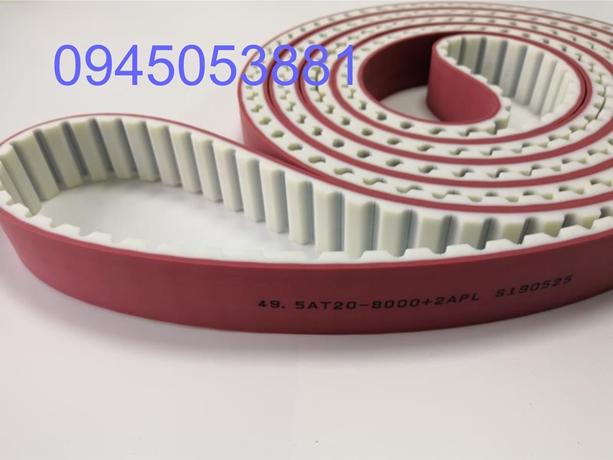 Dây curoa răng PU AT20 đắp cao su đỏ APL| Dây curoa Thiên Lộc