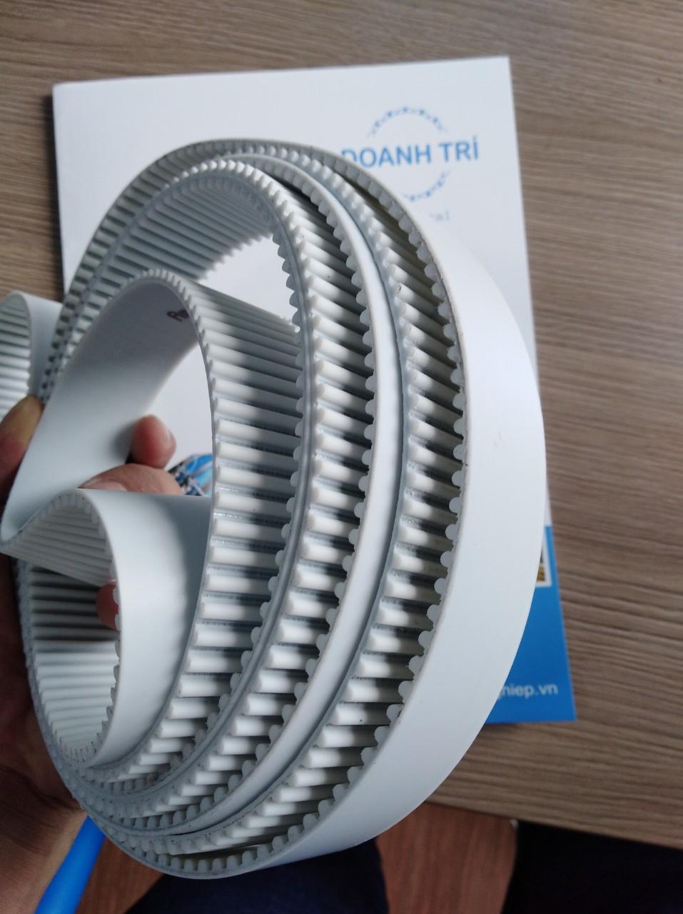 Dây curoa răng PU nối tròn S5M-5M-30-3500 lõi thép