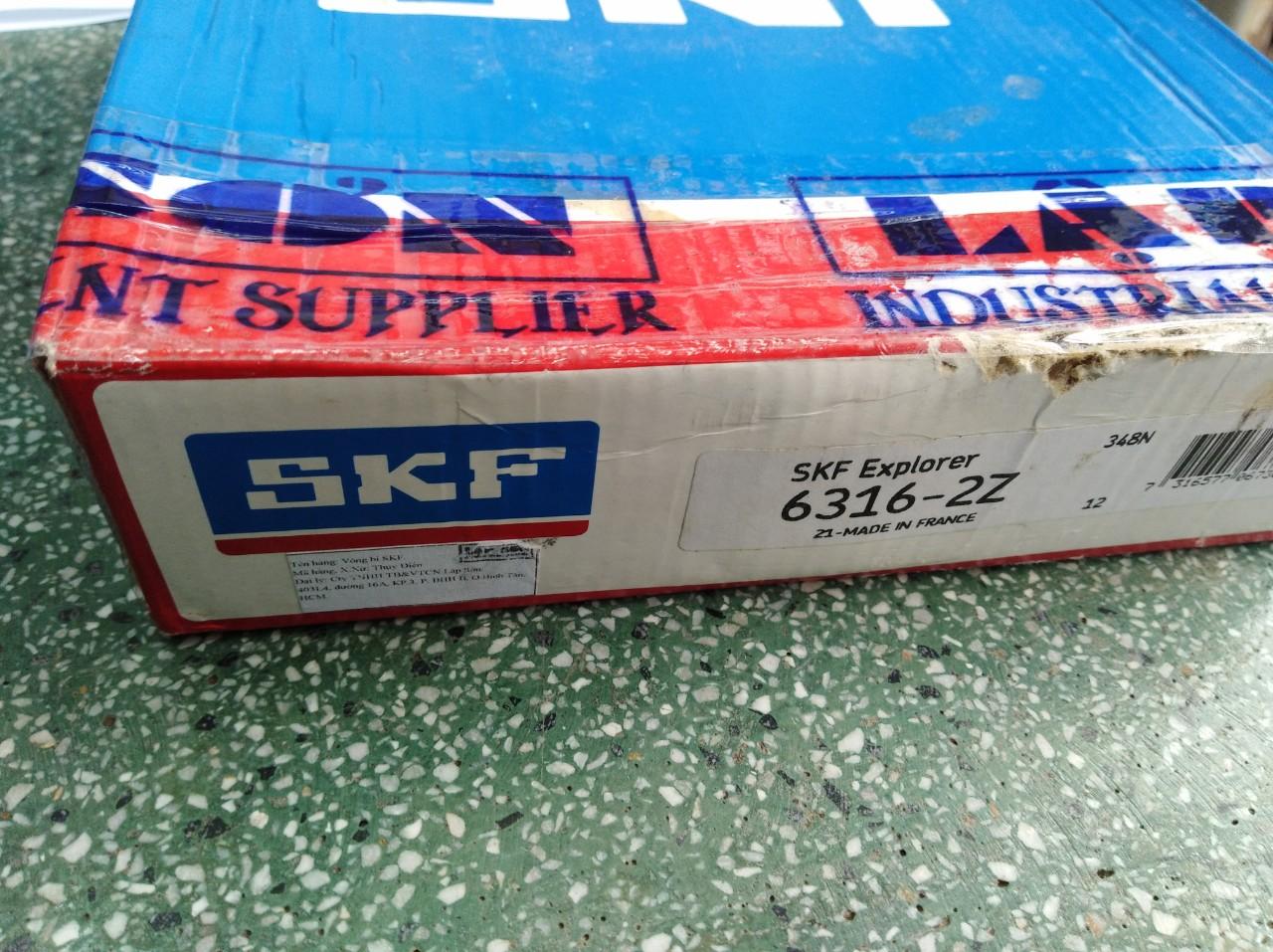 Vòng bi SKF 6316 ZZ